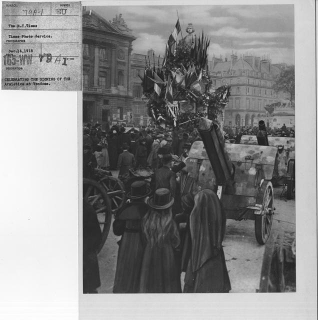 Ceremonies - Belgium - Celebrating the signing of the Armistice at Vedome