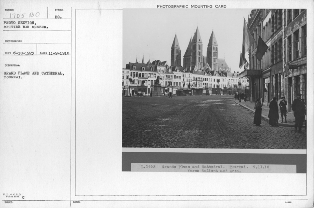Grand Place and Cathedral, Tournai