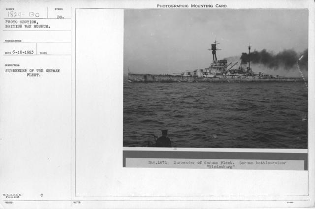 Surrender of the German Fleet
