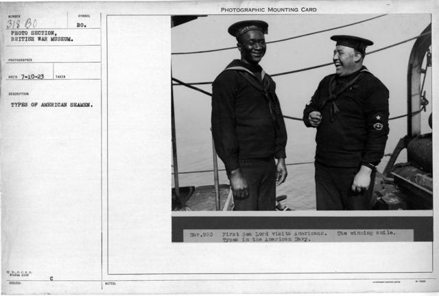 Types of American Seamen