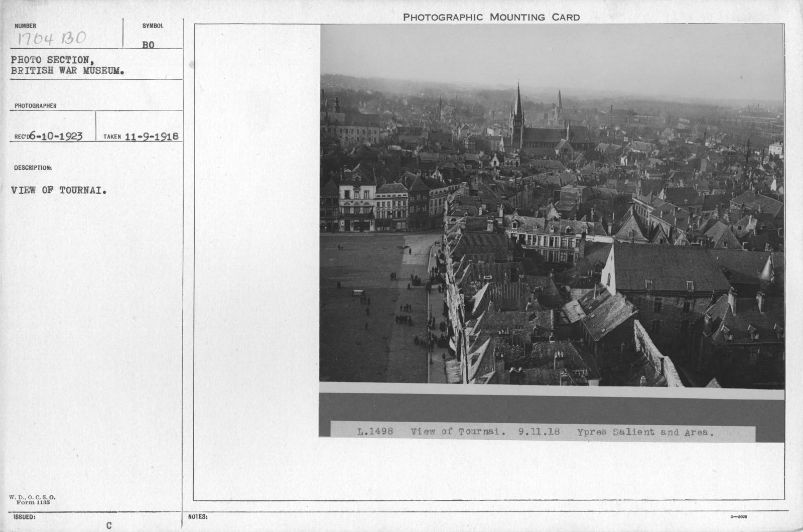 View of Tournai