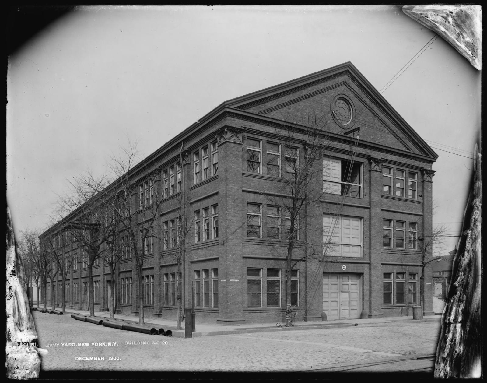 Building Number 23, December 1900.