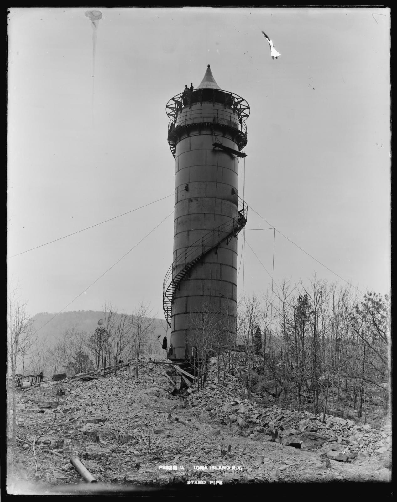 Iona Island, New York, Stand Pipe