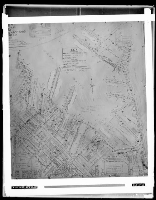 Map of the Naval Yard