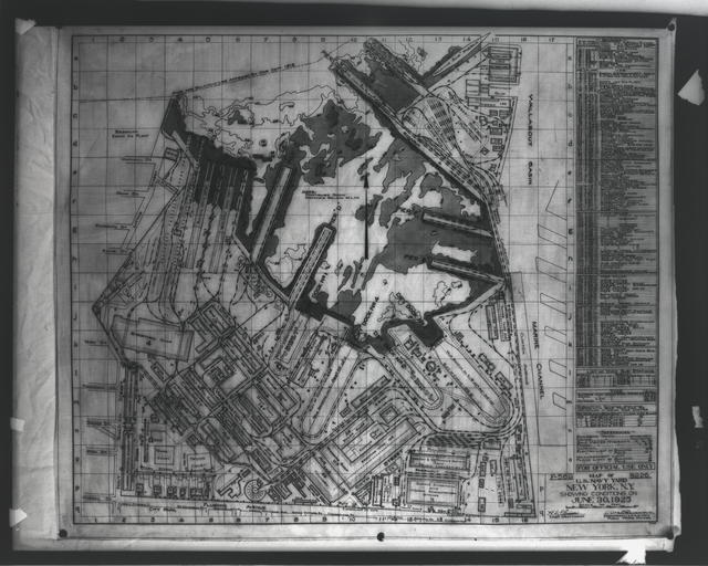 Map of Yard from June 30, 1925