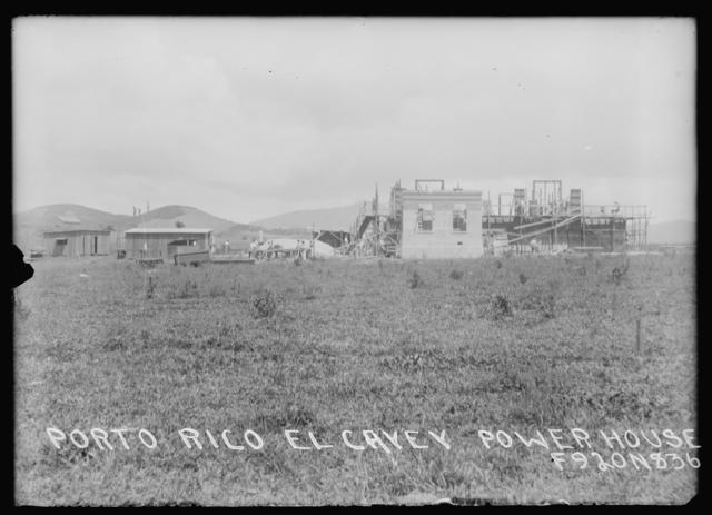 Porto Rico El Cayey  Power House