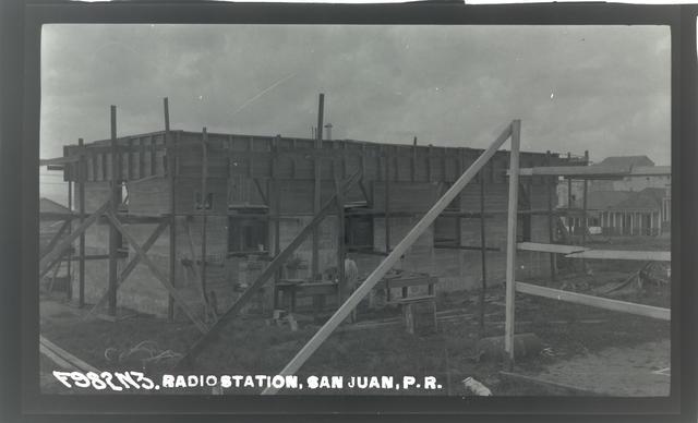 Radio Station, San Juan, Puerto Rico
