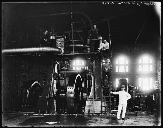 Yards and Docks Electric Power Plant, Buckeye Engine