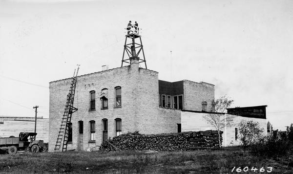 Photograph of Supervisor's Office at Cass Lake, Minnesota