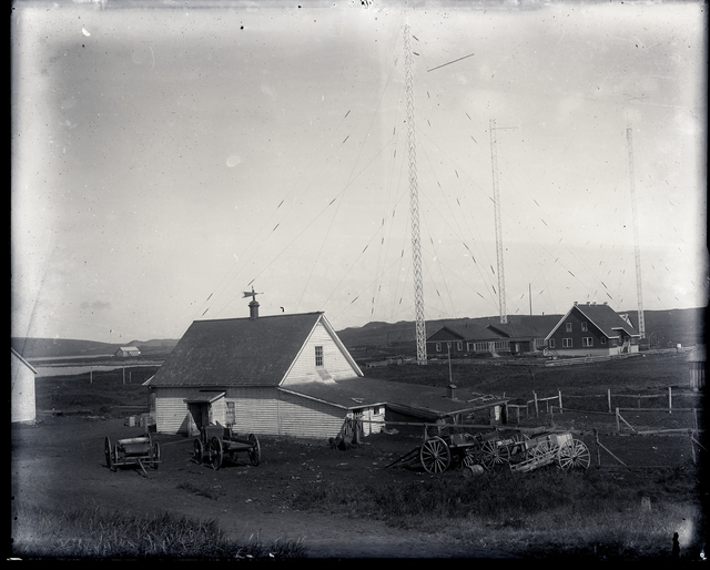 Barn And Radio Station at St Paul