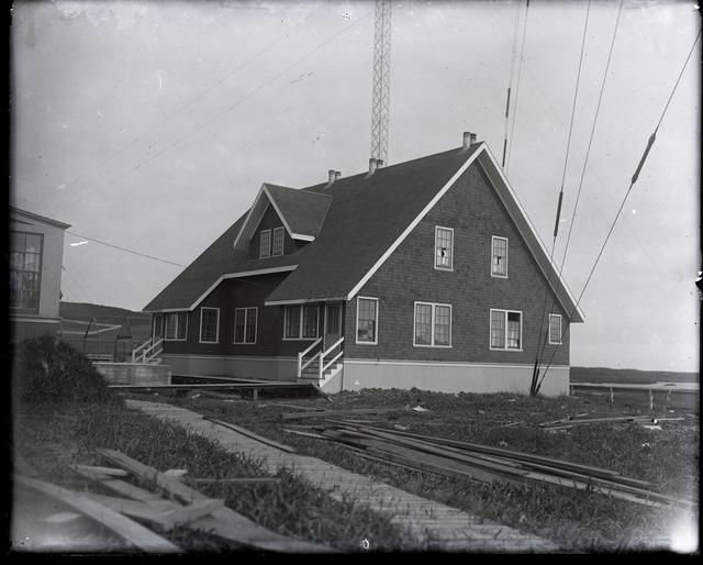 New Cottage at Radio Station
