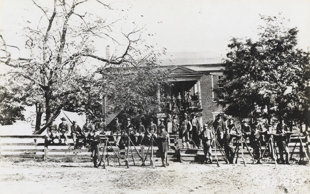 Photograph of Appomattox Court House, Virginia