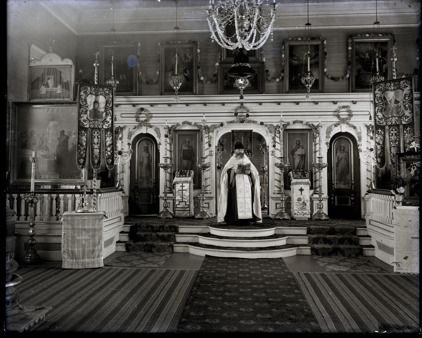 Priest in St Paul Church
