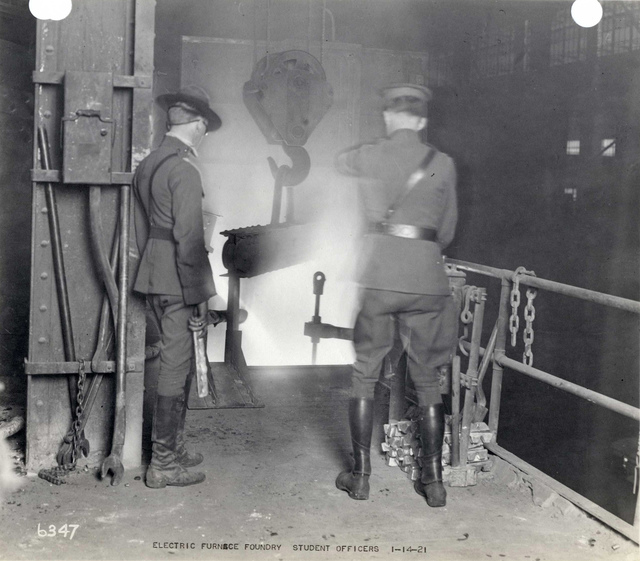 #6347 Electric Furnace Foundry Student Officers