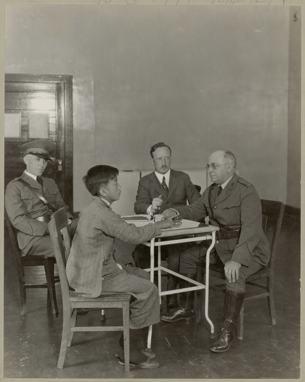 Immigration Interview on Angel Island