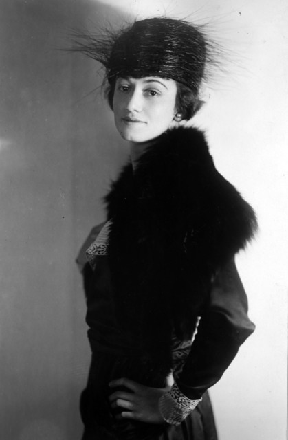 Photograph Studio Portrait of Helen Wallace