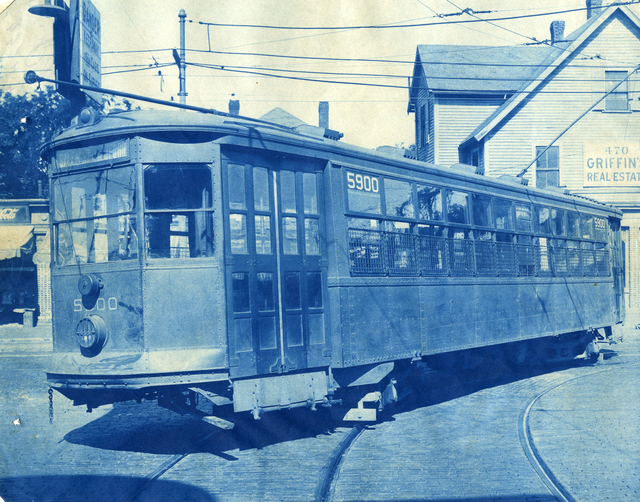 Trolley Car from Car Accident
