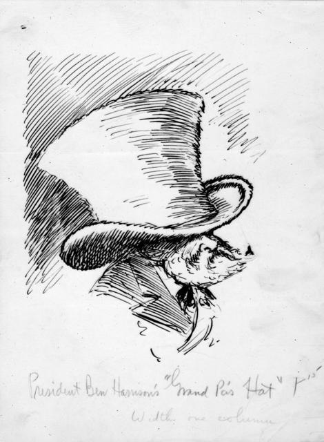 "President Ben Harrison's ""Grand Pa's Hat"""