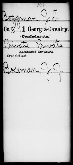Bozzman, J T - 1st Cavalry