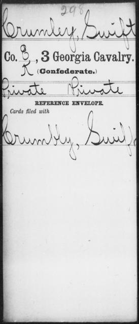Crumley, Swift - 3d Cavalry