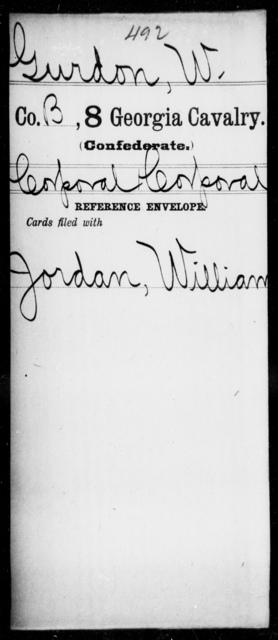 Gurdon, W - 8th Cavalry