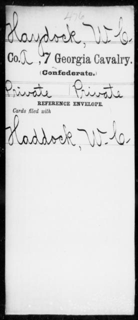 Haydock, W C - 7th Cavalry