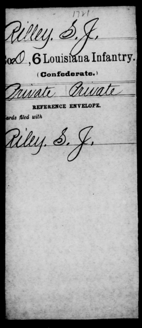 Rilley, S J - Age [Blank], Year: [Blank] - C, P - R - Louisiana