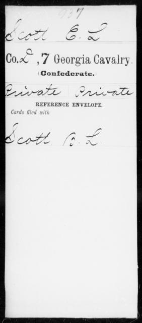 Scott, E L - 7th Cavalry