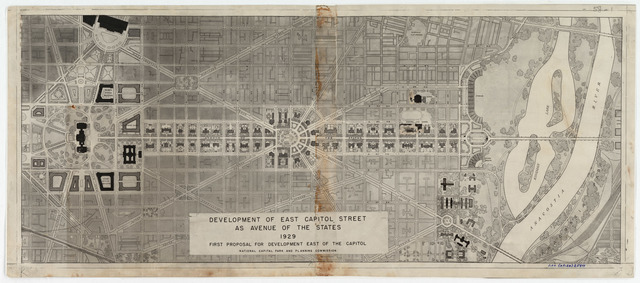 Proposed Development of East Capitol Street as the Avenue of the States