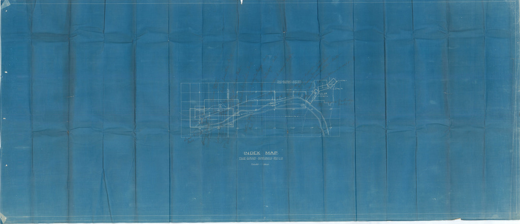 The Sand Springs Railway Company Index Map Tulsa Oklahoma Us - Tulsa-on-us-map