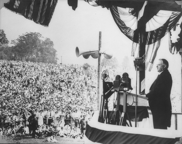 President Herbert Hoover Makes Memorial Day Address at Valley Forge