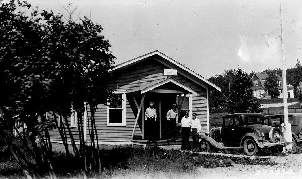 Photograph of Grand Marais Ranger Office and Storehouse