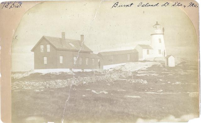Burnt Island -- Maine