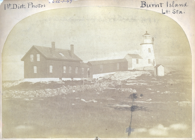 Burnt Island -- Maine