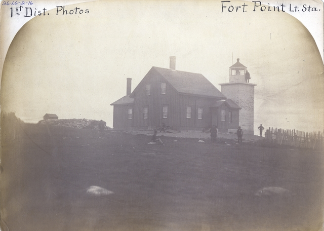 Fort Point -- Maine