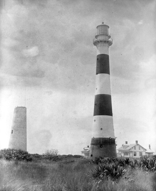 Photograph of Cape Canaveral Light Station in Florida