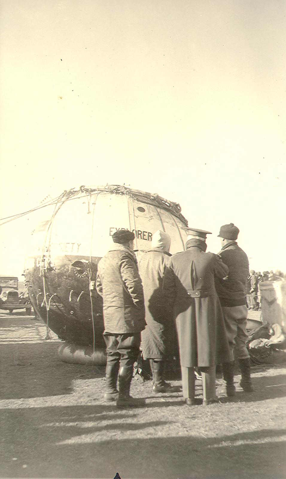 Historic Weather Balloon Explorer II, Lake Andes NWR, South Dakota