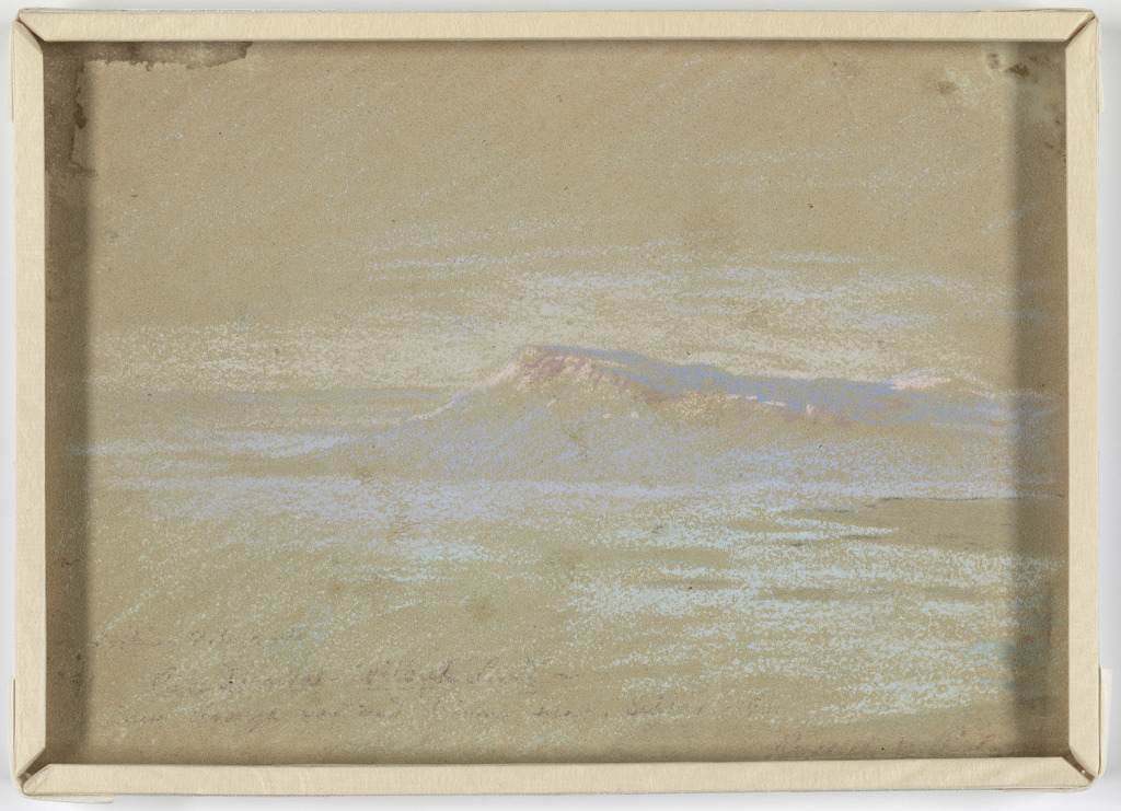 Drawing of a Polar Landscape