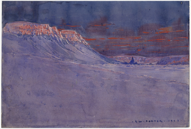 Example of Watercolor at 60° below Zero