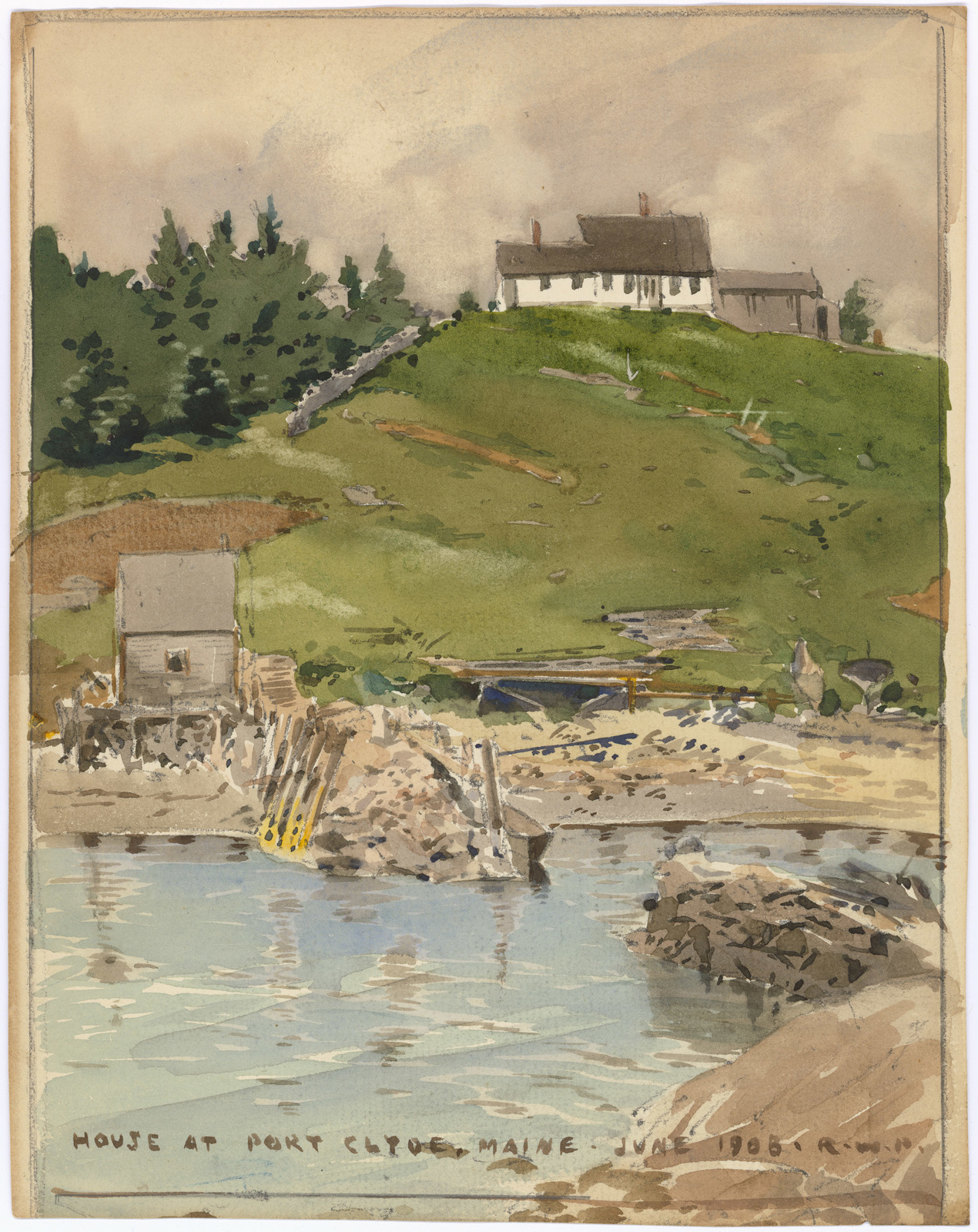 House at Port Clyde, Maine