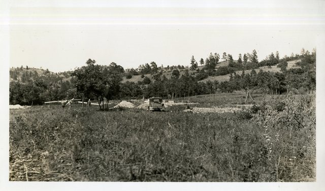 Beginning of Construction at Grass Mountain Colony