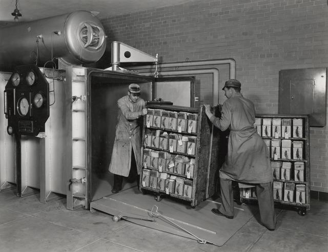 Fumigating Veteran's Administration Records
