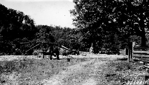 Photograph of Sorghum Mill and Furnace