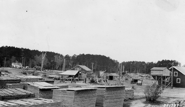Photograph of F. H. Raisen Sawmill Planing Mill and Machine Shop
