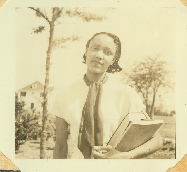 Dillard University, Female Student with Books
