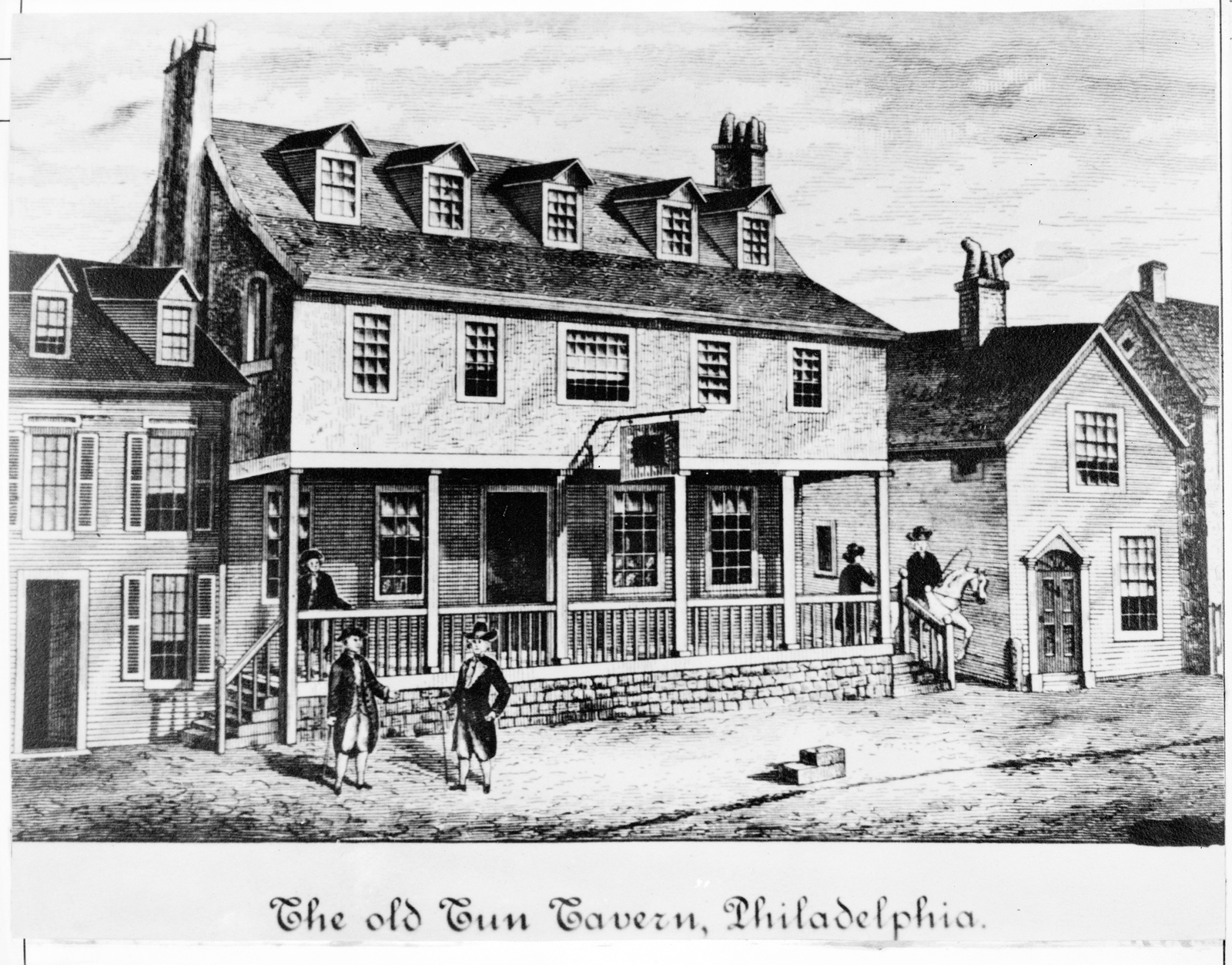 The Old Tun Tavern, Philadelphia