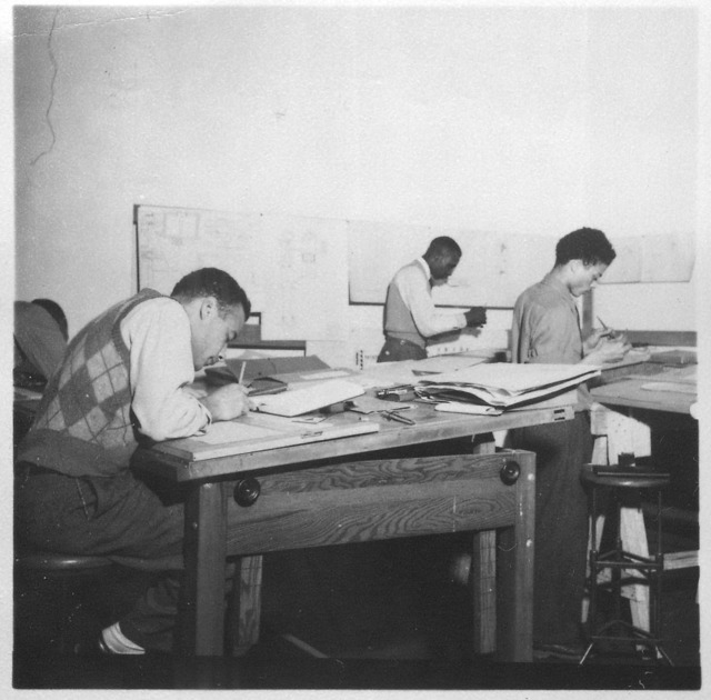Tuskegee Institute, Students in Class