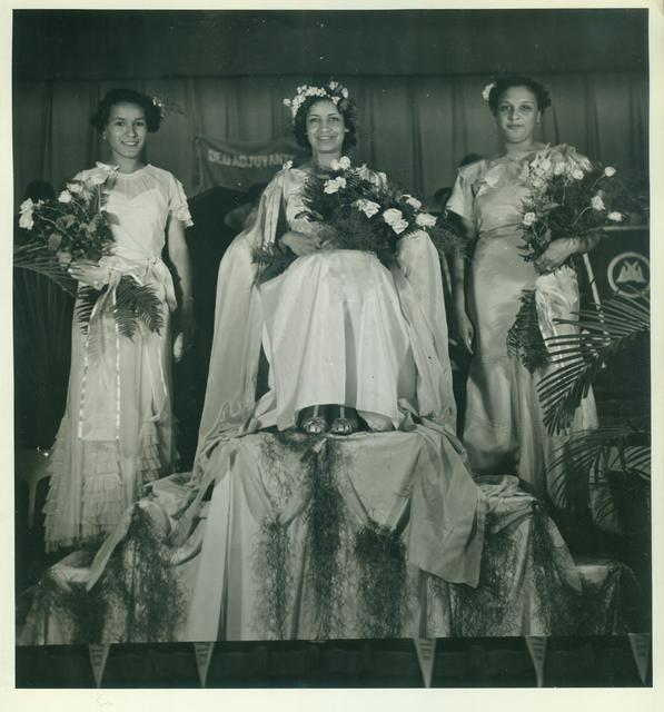 Xavier University, Queen of Honor at a Formal Dance