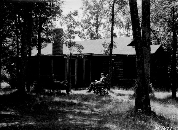 Photograph of Summer Home on Pere Marquette River