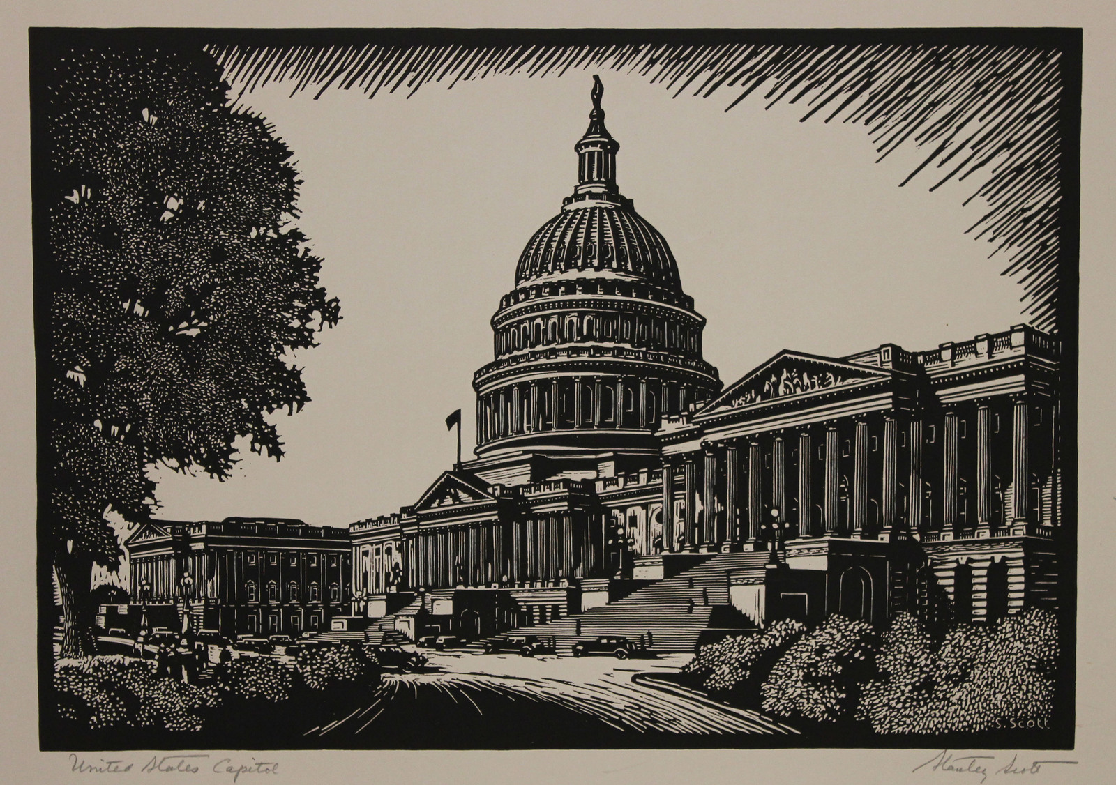 United States Capital Building in Washington, DC by Stanley Scott